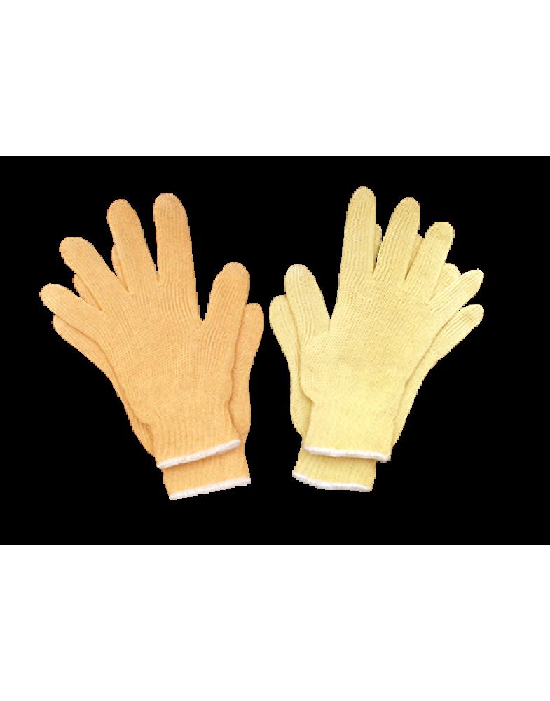 Пара-арамидные (Кевлар) перчатки 5-ти ниточные удлиненная с х/б вставкой